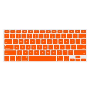 "NewerTech NuGuard Keyboard Cover for 2011-15 MacBook Air 13"", All MacBook Pro Retina - Orange."