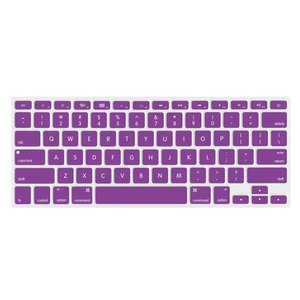 "NewerTech NuGuard Keyboard Cover for 2011-15 MacBook Air 13"", All MacBook Pro Retina - Purple."