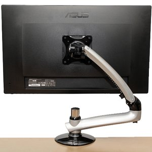 NewerTech NuMount Pivot Desk Mount. 75x75mm or 100x100mm VESA mount