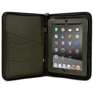 NewerTech iFolio - Premium Green Leather Case-Holder/Folio for all iPads.