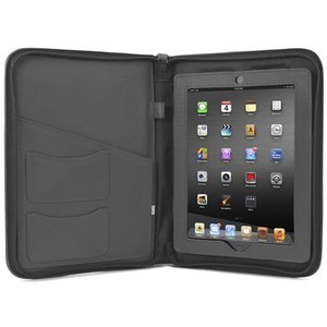 NewerTech iFolio - Premium Gray Leather Case-Holder/Folio for all iPads.