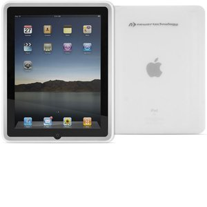 (*) NewerTech NuGuard Soft Silicone Case for iPad - Frost White Color.