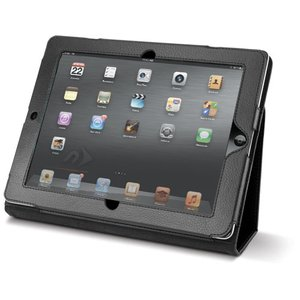 NewerTech The Pad Protector - Slim Leather Folio for Apple iPad 2, 3 & 4. Black