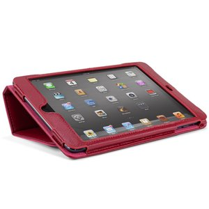NewerTech The Pad Protector mini - Slim Leather Folio for Apple iPad mini. Red