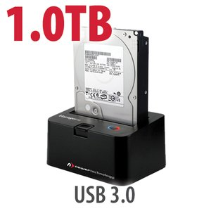 1.0TB 7200RPM HD & NewerTech Voyager S3 'SuperSpeed' USB 3.0 Interface SATA 6Gb/s Dock Bundle
