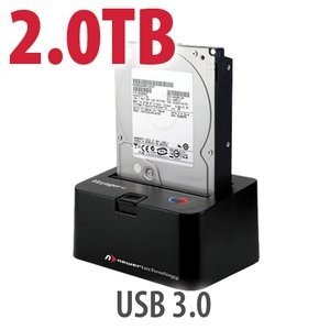 2.0TB 7200RPM HD & NewerTech Voyager S3 'SuperSpeed' USB 3.0 Interface SATA 6Gb/s Dock Bundle