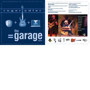 The Garage Album by Roger Adler - Professional Music CD made with GarageBand