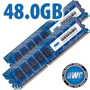 48.0GB (6x 8GB) DDR3 ECC PC3-10600 1333MHz SDRAM ECC for Mac Pro 'Nehalem' & 'Westmere' models