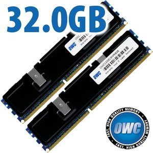 32.0GB (2x 16GB) PC10600 DDR3 ECC-Registered 1333MHz SDRAM ECC-Registered for Mac Pro 'Nehalem' & 'Westmere' Models