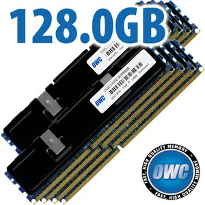 128.0GB (8x 16GB) PC10600 DDR3 ECC-Registered 1333MHz SDRAM for Mac Pro 'Nehalem' & 'Westmere' Models