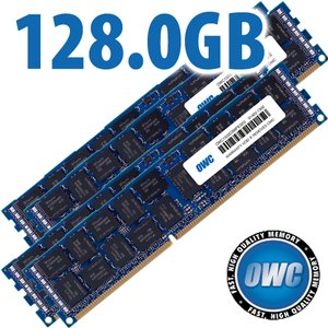 128.0GB Mac Pro Late 2013 Memory Matched Set (4x 32GB) PC3-10600 1333MHz DDR3 ECC-R SDRAM Modules