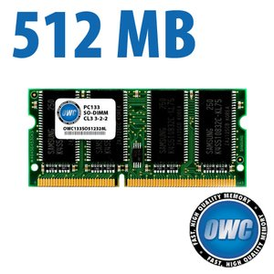 512MB PC133 CL3 Low Profile 1.25 inch SO-DIMM