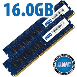 16.0GB (4x 4GB) OWC Brand PC10600 DDR3 ECC-Registered 1333 MHz 240 pin DIMM Memory upgrade kit