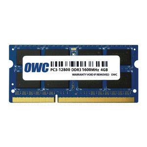 *Retail Pack Single with UPC* 4.0GB PC3-12800 DDR3L 1600MHz SO-DIMM 204 Pin CL11 SO-DIMM Module