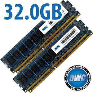 32.0GB Mac Pro Late 2013 Memory Matched Set (4x 8GB) PC3-14900 1866MHz DDR3 ECC-R SDRAM Modules