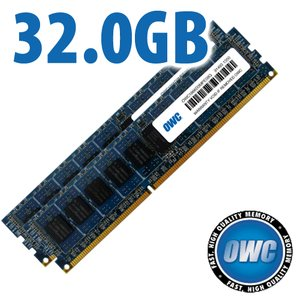 32.0GB Mac Pro Late 2013 Memory Matched Set (2x 16GB) PC3-14900 1866MHz DDR3 ECC-R SDRAM Modules