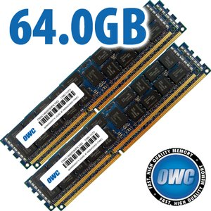 64.0GB (4 x 16GB) Matched Set Memory Upgrade for Mac Pro 2013