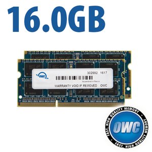 16.0GB (2x 8GB) 1867MHz DDR3 SO-DIMM PC3-14900 SO-DIMM 204 Pin CL11 Memory Upgrade Kit