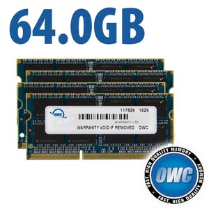 64.0GB 1867MHz DDR3 SO-DIMM PC3-14900 SO-DIMM 204 Pin CL11 Memory Upgrade Kit