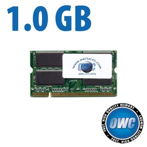 1.0GB (1024MB) PC2100 DDR 266MHz 200 Pin So-DIMM