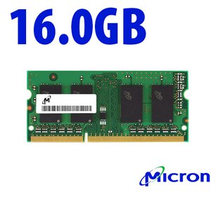 16.0GB 2400MHz DDR4 SO-DIMM PC4-19200 SO-DIMM 260 Pin CL17 Memory Upgrade