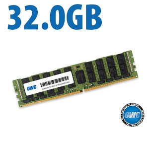 32.0GB OWC 2666MHz DDR4 PC4-21300 ECC 288-Pin LRDIMM Memory Upgrade