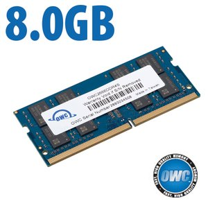 8.0GB 2666MHz DDR4 SO-DIMM PC4-21300 SO-DIMM 260 Pin Memory Upgrade