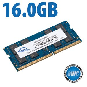 16.0GB OWC 2666MHz DDR4 PC4-21300 260-Pin SO-DIMM Memory Upgrade