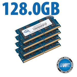 128.0GB (4x 32GB) 2666MHz DDR4 PC4-21300 SO-DIMM 260 Pin Memory Upgrade Kit