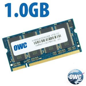 1.0GB (1024MB) PC2700 DDR SO-DIMM 200 Pin Memory Module
