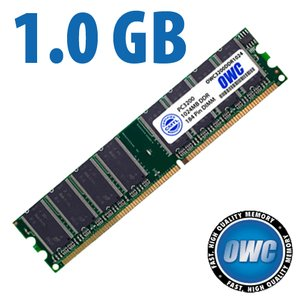 1.0GB PC3200 DDR 400MHz 184 Pin DIMM Module
