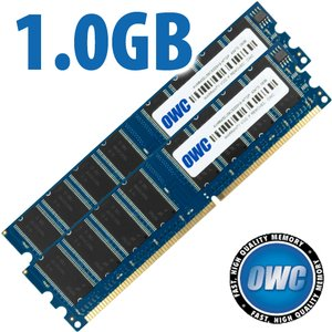 1.0GB PC3200 Power Mac G5 SDRAM Memory Upgrade Kit (2x 512MB Matched Pair) DDR 400MHz CAS 3.0