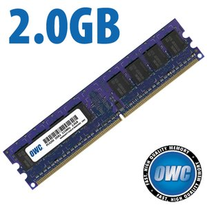 *Retail Pack Single with UPC* 2.0GB (2048MB) PC4200 DDR2 533MHz 240 Pin DIMM Module