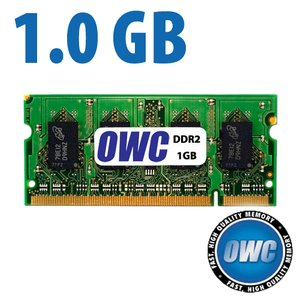*Retail Pack Single with UPC* 1.0GB (1024MB) PC4200 DDR2 SO-DIMM 200 Pin Memory Module 128x64 533MHz