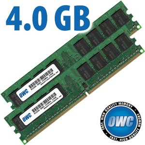 4GB Matched Pair (2GB modules x 2) PC4200 DDR2 533MHz 240 Pin DIMM Memory Set