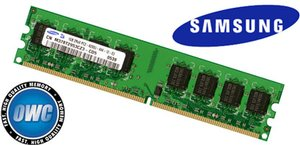 (*) 1.0GB (1024MB) Samsung Factory Original PC4200 DDR2 533MHz 240 Pin DIMM Module