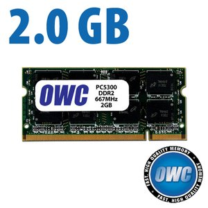 (*) 2.0GB PC-5300 DDR2 667MHz SO-DIMM 200 Pin Memory Upgrade Module *Used*