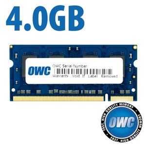*Retail Pack Single with UPC* 4.0GB PC-5300 DDR2 667MHz SO-DIMM 200 Pin Memory Upgrade Module