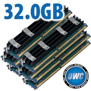 32.0GB Mac Pro Memory Matched Set (8x 4GB) PC5300 DDR2 ECC 667MHz 240 Pin FB-DIMM Modules