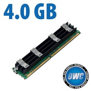 4.0GB Apple Qualified PC5300 DDR2 ECC 667MHz 240 Pin FB-DIMM Module for Mac Pro *REQUIRES PAIRS*