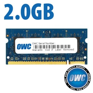 2.0GB PC-6400 DDR2 800MHz SO-DIMM 200 Pin Memory Module (Major)