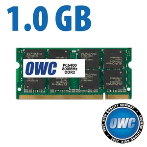 (*) 1.0GB PC-6400 DDR2 800MHz SO-DIMM 200 Pin Memory Module *Used with 30 Day Warranty*