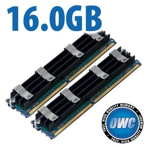 16.0GB Mac Pro Memory Matched Pair (2x 8GB) PC6400 DDR2 ECC 800MHz 240 Pin FB-DIMM Modules