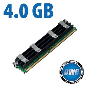 4.0GB Apple Qualified PC6400 DDR2 ECC 800MHz 240 Pin FB-DIMM Module for Mac Pro *REQUIRES PAIRS*