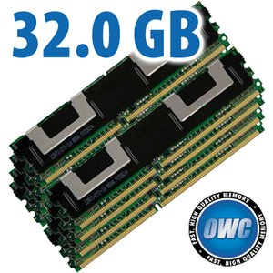 32.0GB Xserve Quad Xeon Kit (8x 4GB) PC5300 DDR2 ECC 667MHz 240 Pin FB-DIMM JEDEC