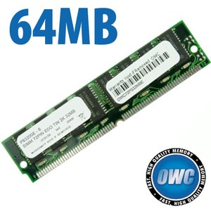 64MB (16x32) 72 Pin SIMM 60ns 2K Refresh