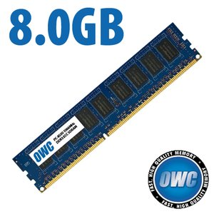 8.0GB DDR3 ECC PC8500 1066MHz SDRAM ECC for Mac Pro & Xserve 'Nehalem' models