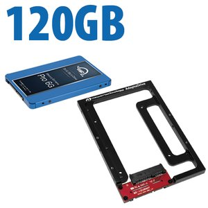 DIY Kit: NewerTech AdaptaDrive + 120GB OWC Extreme Pro 6G Solid-State Drive Bundle.