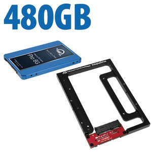 DIY Kit: NewerTech AdaptaDrive + 480GB OWC OWC Mercury Extreme Pro 6G Solid-State Drive Bundle.