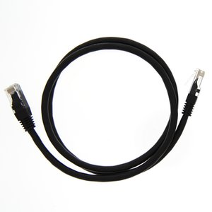 "0.9 Meter (36"") Ethernet Category 6 Enhanced RJ45 Network Patch Cable. Black"